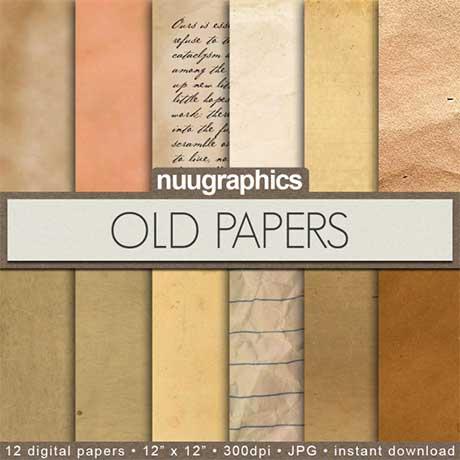 Old Paper Digital Paper